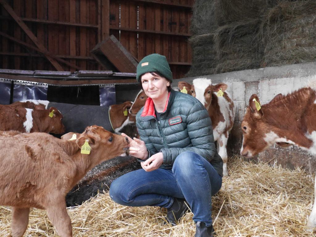 Stephanie Strotdrees betreibt einen eigenen Bio-Bauernhof und ist Vize-Präsidentin des Bioland-Verbands.